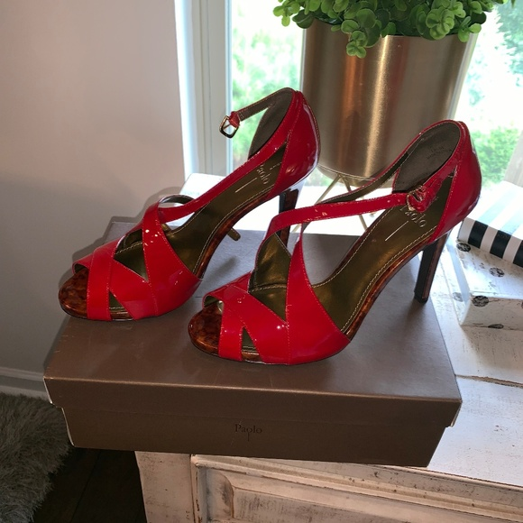 Paolo Shoes - Paolo red heel